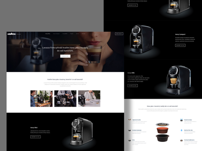 Lavazzafirma.cz wordpress development wordpress theme lavazza-firma leschinger.cz ui desgin wordpress design wordpress coffee lavazza website