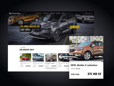 Opel dealer lschngr clean design ux design ui design wordpress theme wordpress website opel
