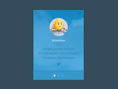 Free Twitter Widget twitter widget freebie psd download