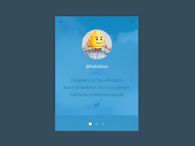 Free Twitter Widget
