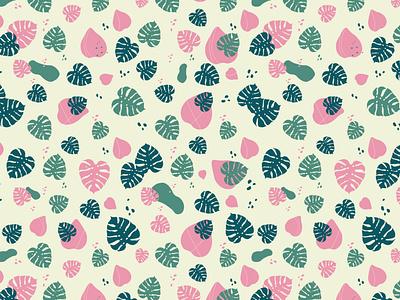monstera shape pattern [2] mockup shape colours monstera deliciosa monstera floral patterns pattern