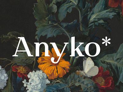ANYKO Typedesign typedesign typeface type typography