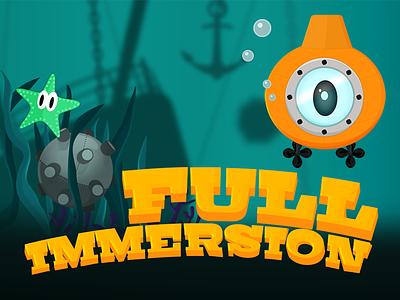 Full Immersion Game game marine mine sea seaweed submarine full immersion