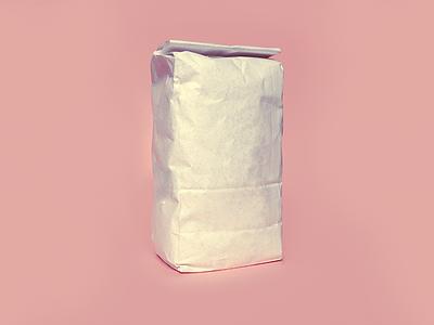 Free Flour Bag Mockup mockup bag flour free