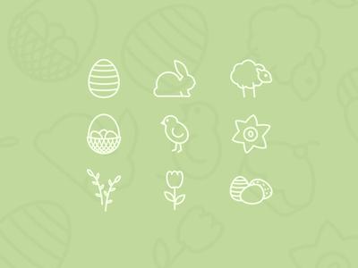 Free Easter Icon Set speing set icon easter free