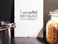 Free sarcastic kitchen posters