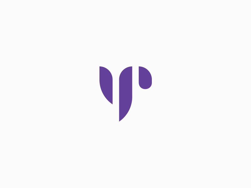YP monogram letter p letter y monogram