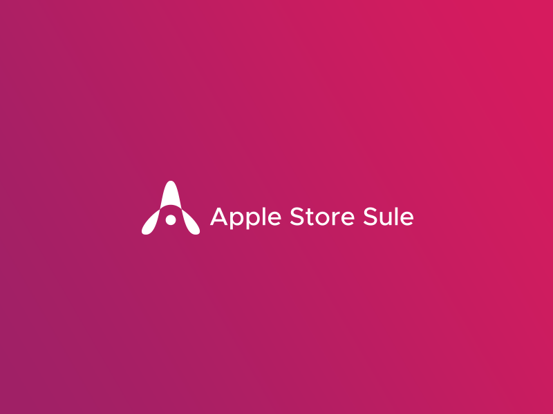 Apple Authorized Reseller Logo a letter point pagoda logo location apple