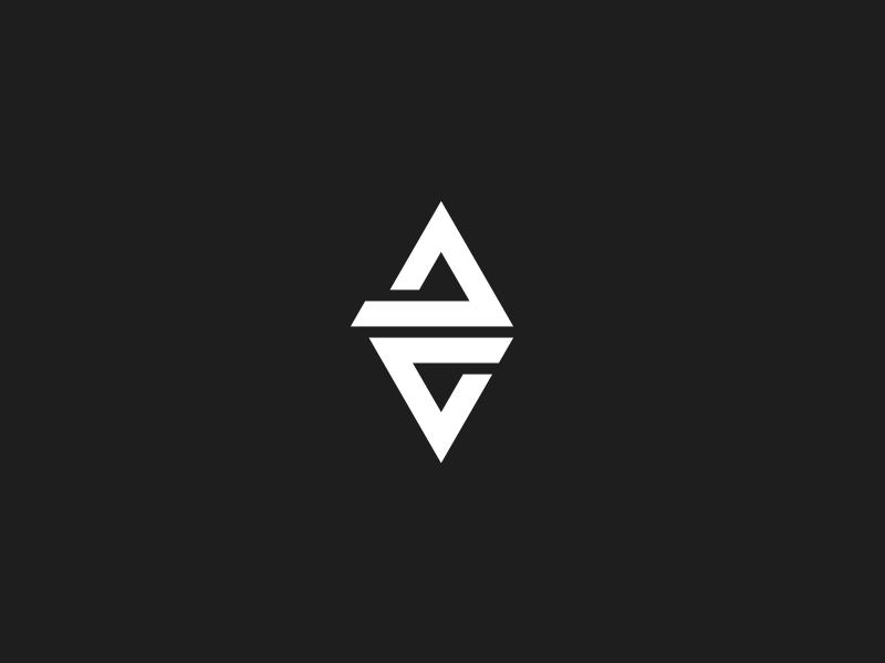 DC mobius monogram initials mobius dc logo