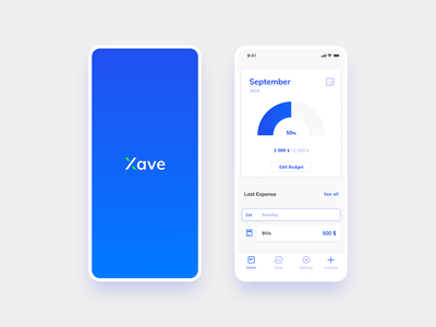 Xave - Expense Tracker