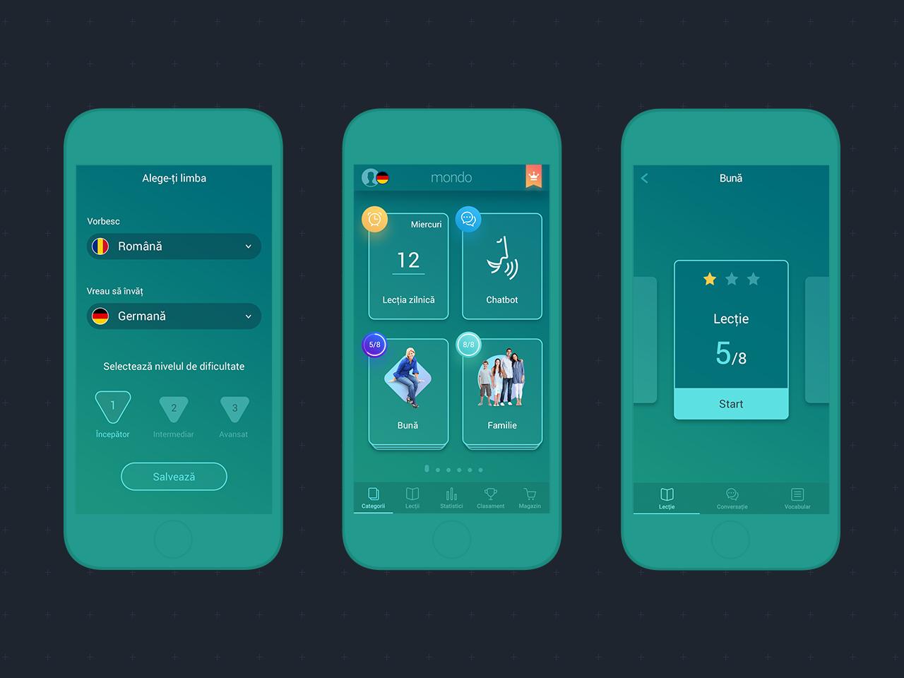 Mondo Ocean UI uidesigner interface appdesign userinterface uidesign ui