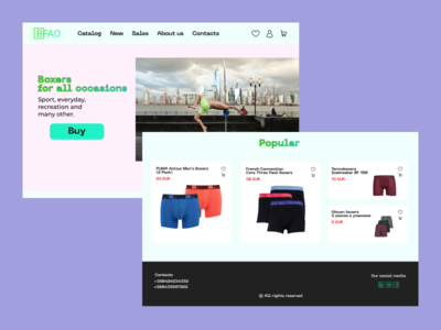 Shop. DesignLine Weekly Challenge. Week 8 minimal webdesign web ui dlweekly dlchallenge designline design
