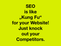 Seo Is Like Kung Fu