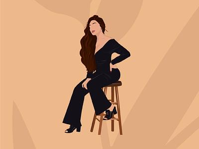Woman instagram woman flat illustration adobe illustrator illustration vector illustration vector art vectors vector feminism flatdesign flat background design minimalistic minimalistic art minimalist minimal artwork art