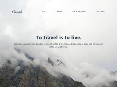 New Look of my Website