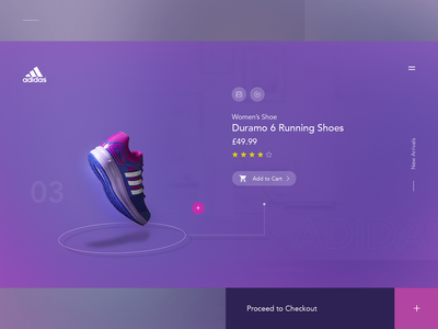 Adidas - Product page Concept