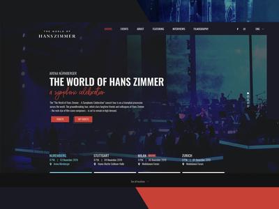 Concept Design for The World of Hans Zimmer