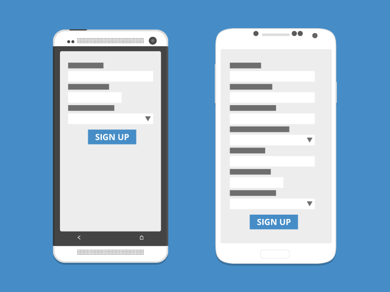 Form UX Tips ux form ux user experience flat