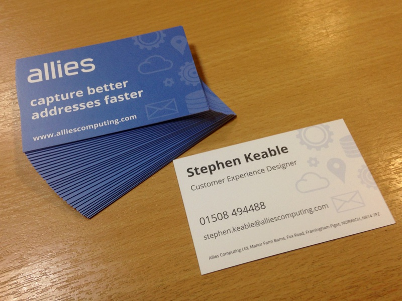 Allies Business Cards business cards print