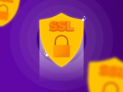 SSL Hostinger vector illustration