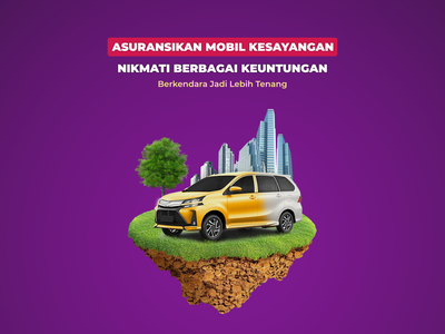 Asuransi Kendaraan Premium branding design