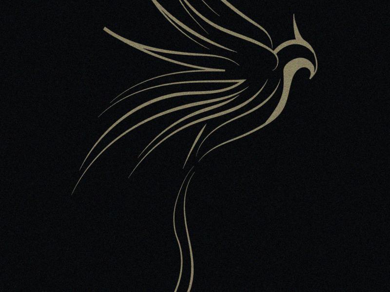 phoenix logo logo illustrator minimal icon vector branding typography illustration logodesign design
