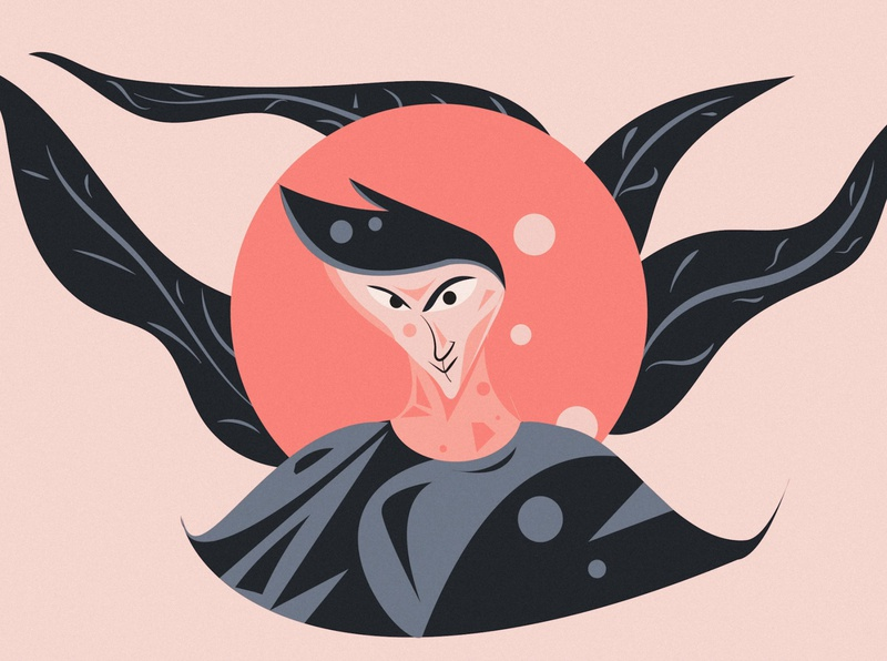 Dreamer drawing artwork branding illustrator illustration design
