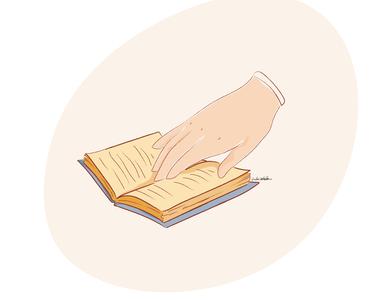 This week reading mindful educated books reading morning routine illustration digital illustration art illustration