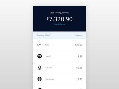 Basic Bank App bank app finance banking fintech simple ui ux wallet spending money