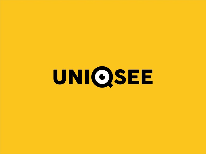 Uniqsee Logo logodesign icon branding design logo