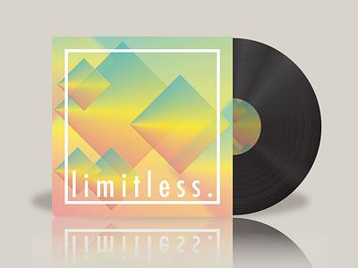 limitless. vector illustration album cover design