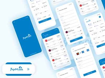 Travel Agency Mobile App tour app tour travel service mobile app development mobile app design tkt24 ticket app agency design branding design app design trip24 ui ux mobile ui traveling travels travel app mobile app travel
