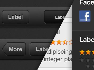 iTunes & App Store GUI (iOS6) gui ios6 apple