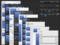IOS 6 GUI - Itunes & App Store