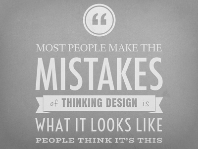 Steve Jobs Quote apple design font typeface quote cement decor jobs steve wall freebie