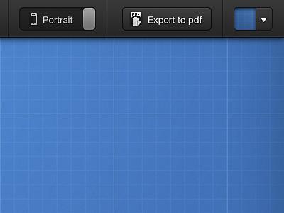 Options bar - mediaqueries.me navigation ui button bar options media queries responsive
