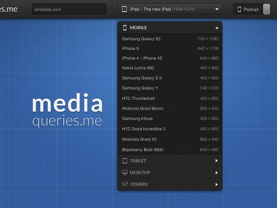 An other dropdown - mediaqueries.me ui media queries dropdown navigation