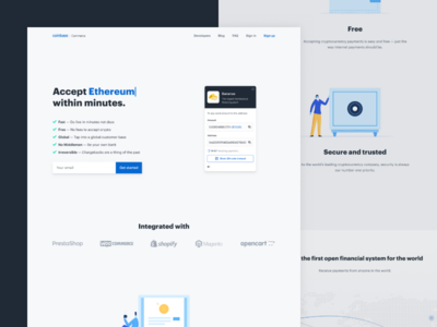 New Coinbase Commerce landing page joke a is dribbble on tags derp derpy