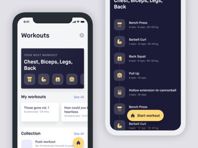 Workout tracker