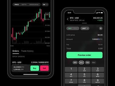 Coinbase Pro App 🏄♀️ app trading platform bitcoin crypto trading pro coinbase