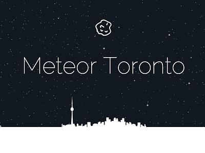 Meteor Toronto meteor dark thin animation toronto silhouette list