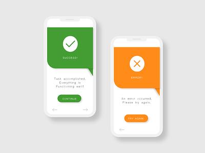 Day 11: Flash Message (Error/Success) challenge ux ui minimal design