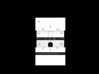 Day 14: Countdown Timer uichallenge app challenge ui ux minimal design