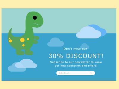 Daily UI    16 Pop Up   Overlay web website uichallenge app challenge ui ux minimal design