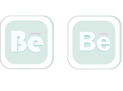 App icon for Be icon design