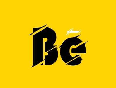 Be ui logo design