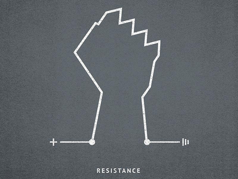 Resistance single artwork music gray 365 singles