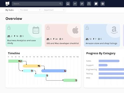 My Task Dashboard Design ux team dashboard ui app