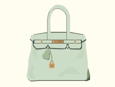 Birkin Bag figma graphic design purse graphicdesign graphic illustration handbag birkin birkin bag