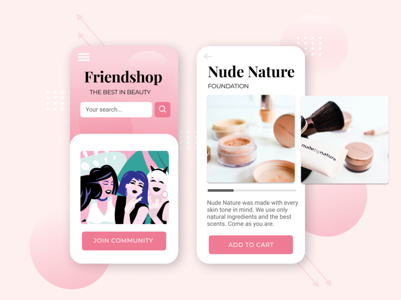 Makeup Mobile App Design UI skincare mobile ui kit mobile ui mobile designer mobile design mobile app mobile makeup artiest makeup app cosmetics